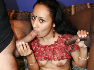Exciting indian orgy. Indian bitch Lashki goes for an exciting orgy and got herself surrounded with rock violent schlongs