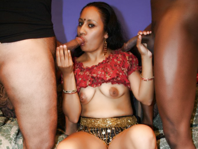 Wild indiang gangbang. Wild Indian Ishu goes for a kinky gangbang session and got all of her holes drilled with violent dongs