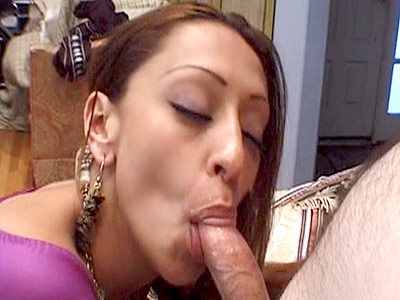Indian cock whore. Hot Indian babe eats a huge cock before getting her vagina fuck